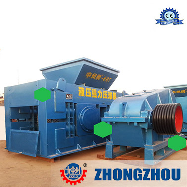 Semicoke Briquette Machine